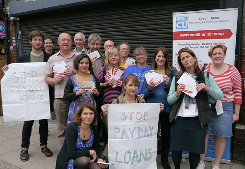 Lib Dems support the credit union and protest against a new payday loan shop in Muswell Hill | by Haringey Liberal Democrats