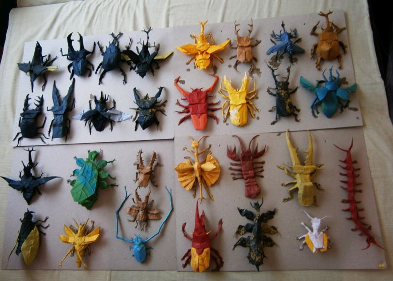 Origami Insects Ataman Flickr