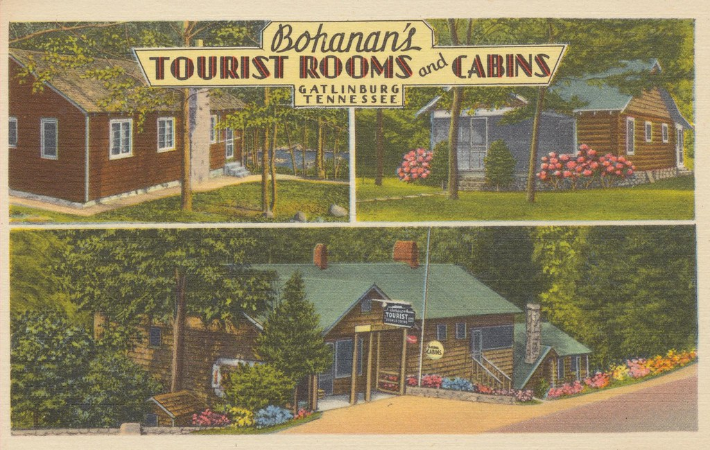 Bohanan's Tourist Rooms and Cabins - Gatlinburg, Tennessee