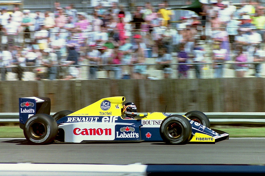 Image result for 1990 british grand prix boutsen