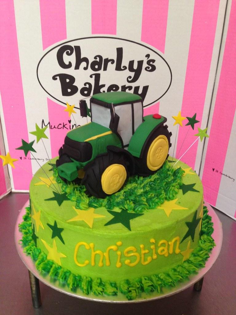 Birthday cake in Springbok colours with 3D fondant John De Flickr