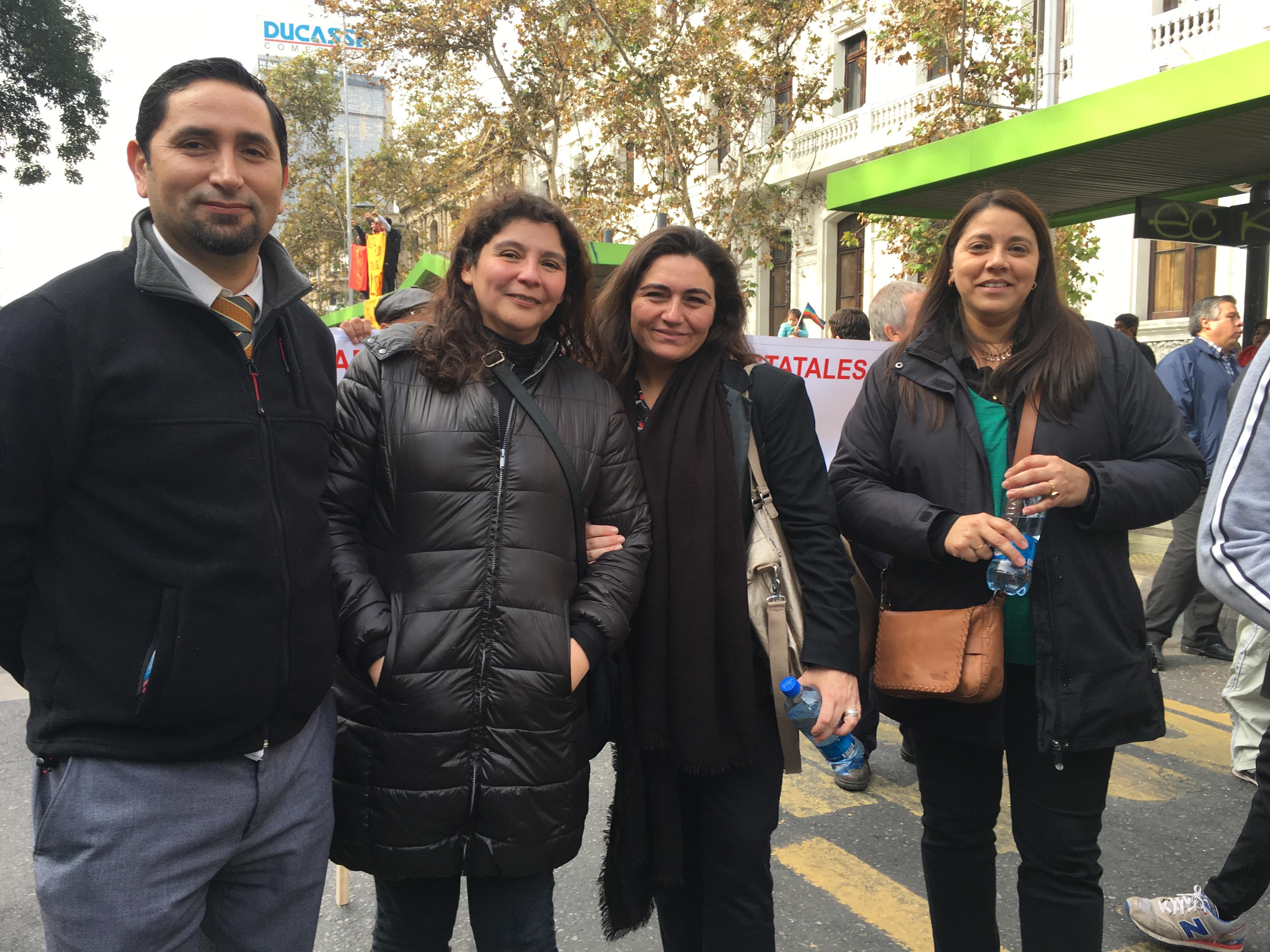 AFIICH participa en Marcha convocada por la CUT - 31 Mayo 2016
