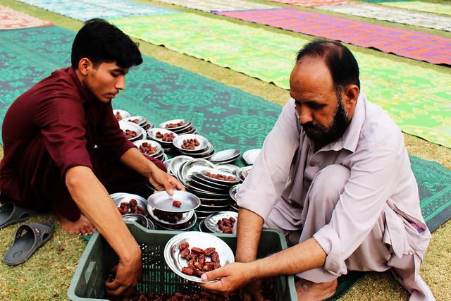 Joys of Ramazan 2016 at Hajvery University (HU)!