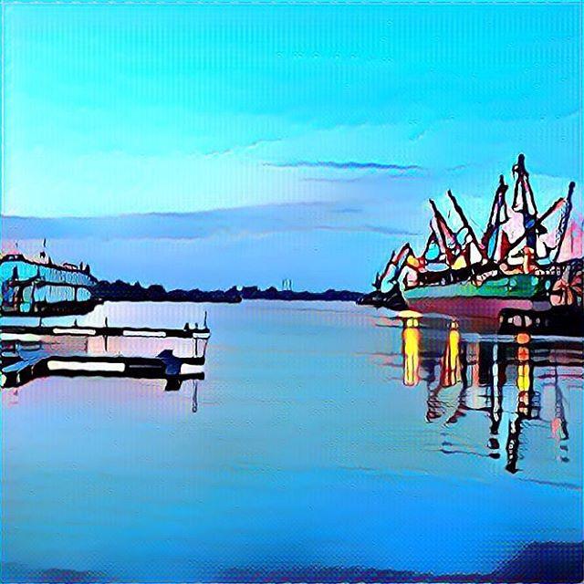 Рижский порт #рига #riga #latvia #латвия #prisma #prismaart #prismainsta #prismaru