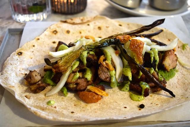 Pork Shawarma at Le Bab, Soho | www.rachelphipps.com @rachelphipps