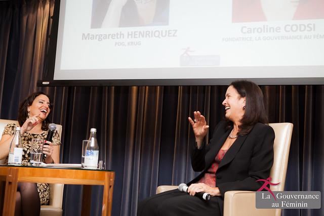 2016.04.07 Cocktail-conférence avec Maggie Henriquez, PDG Champagne KRUG (LVMH)