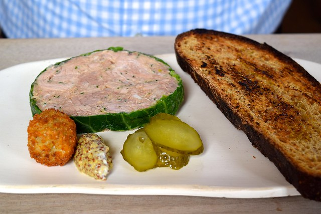 Pork Terrine and Pickles at The Sportsman, Seasalter | www.rachelphipps.com @rachelphipps