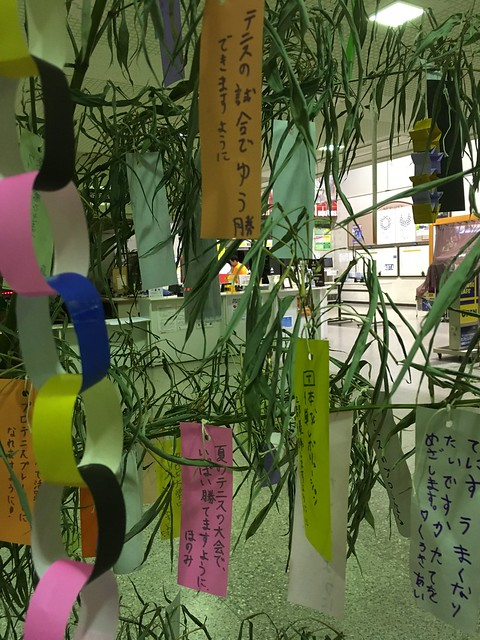 Tanabata Star festival wish