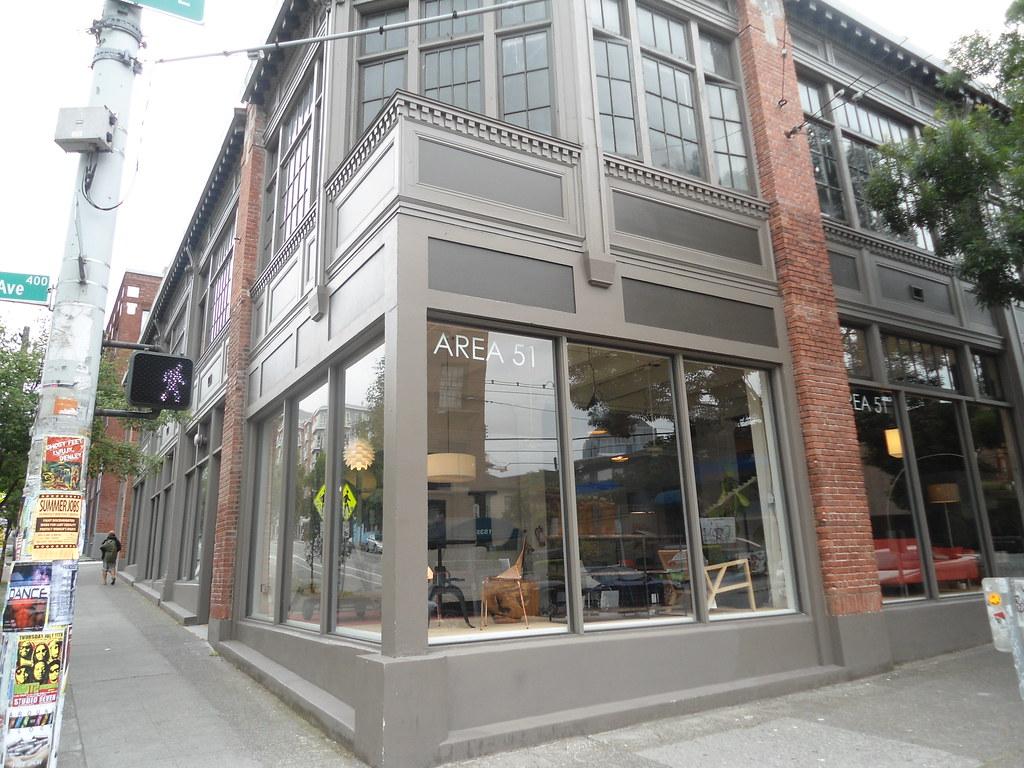 ... Area 51 Mid Century Modern Furniture Store On Capitol Hill On Pine  Seattle WA |