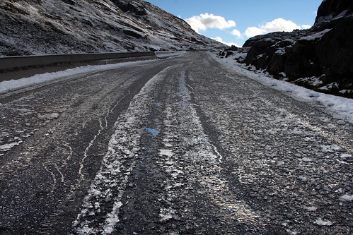 Icy road in Norway | by NathanaelBC