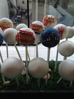 San Francisco themed Cake Pops | by Sweet Lauren Cakes