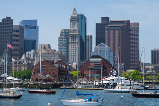 Boston from Harbor | by massmatt