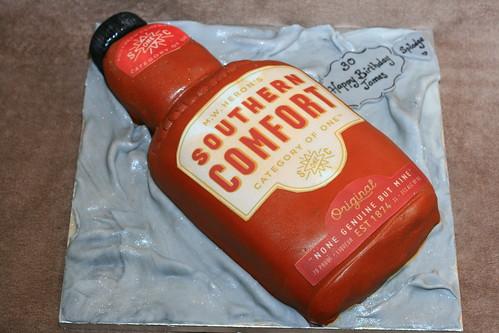 Southern Comfort Cake Recipe