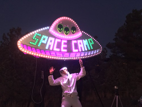 Dmertl's abduction at Space Camp