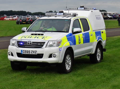 Royal Air Force Police Toyota Hillux Ce65 Zxz 2016 Cosfor