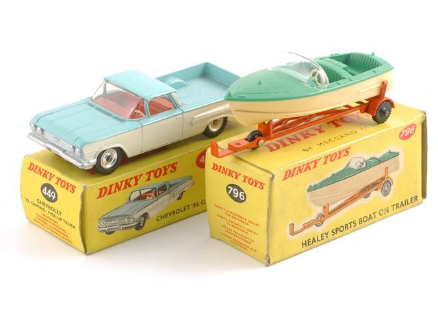 Dinky Toys Chevy El Camino And Healy Sports Boat Not Sure Flickr