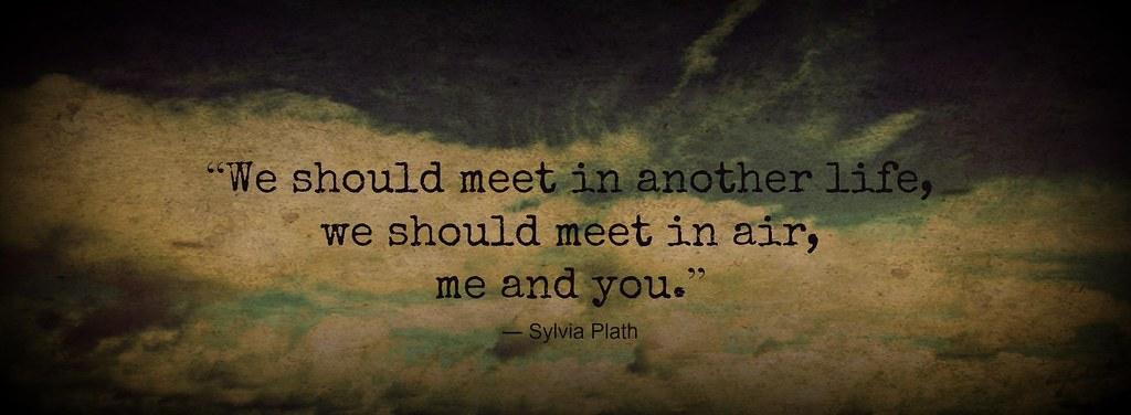 we should meet