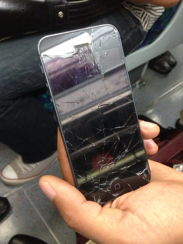 Smashed Iphone  For Sale