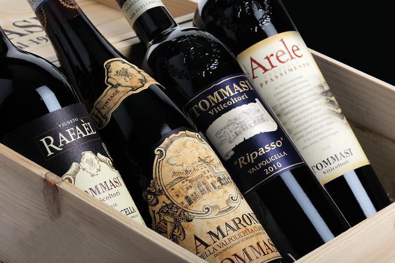 Tommasi - Bottles in Wooden Case
