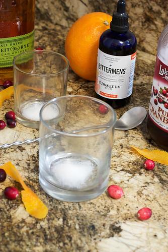 Cranberry Old Fashioned | LittleRedKitchen | Flickr