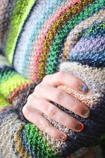 Amazing Technicolor Dream Sweater 12 | by westknits