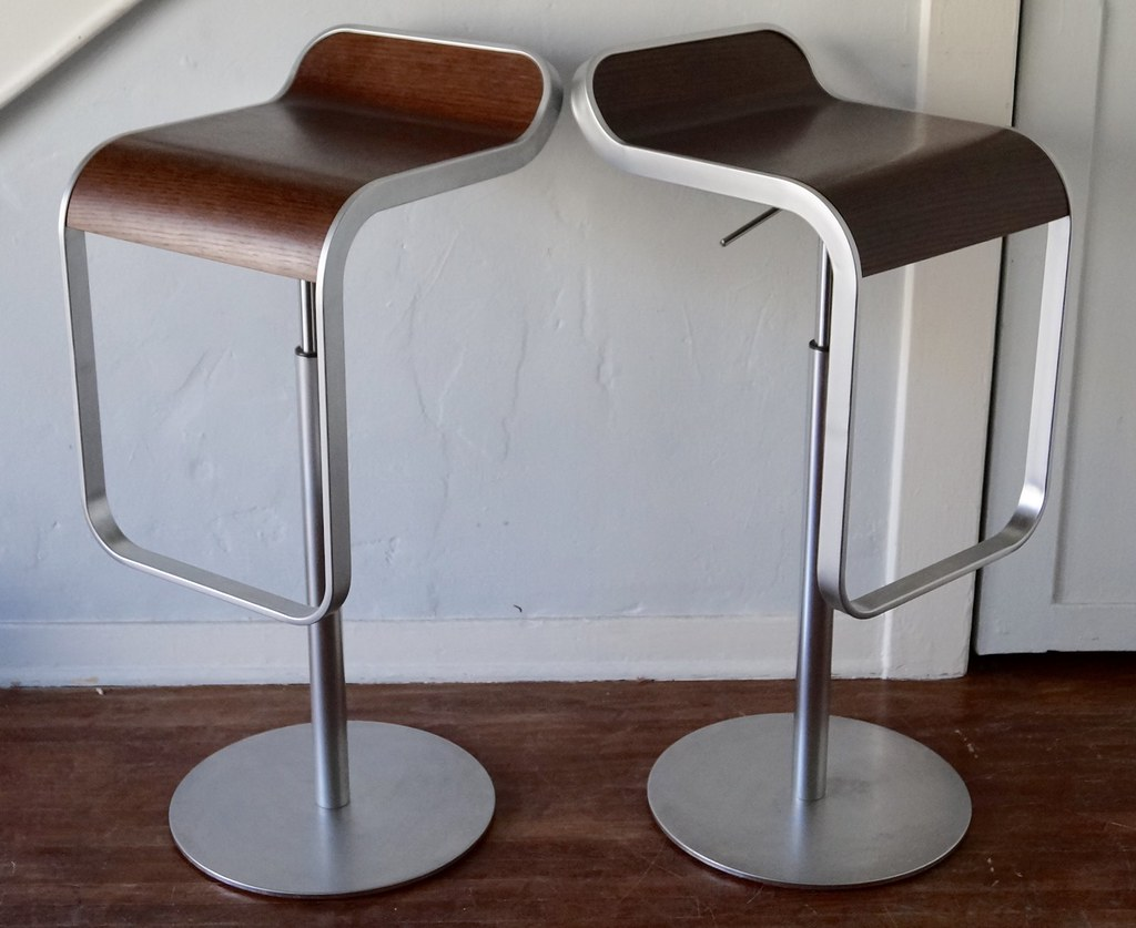 Pair Of Design Within Reach Bar Counter Stools Pair Of D Flickr