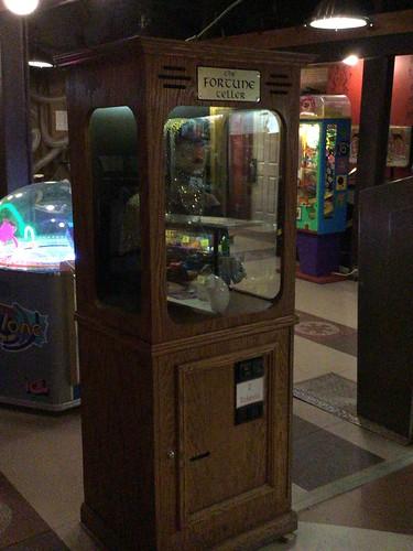 アーケードコーナーにあったゲーム機 BIGという映画に出ていた