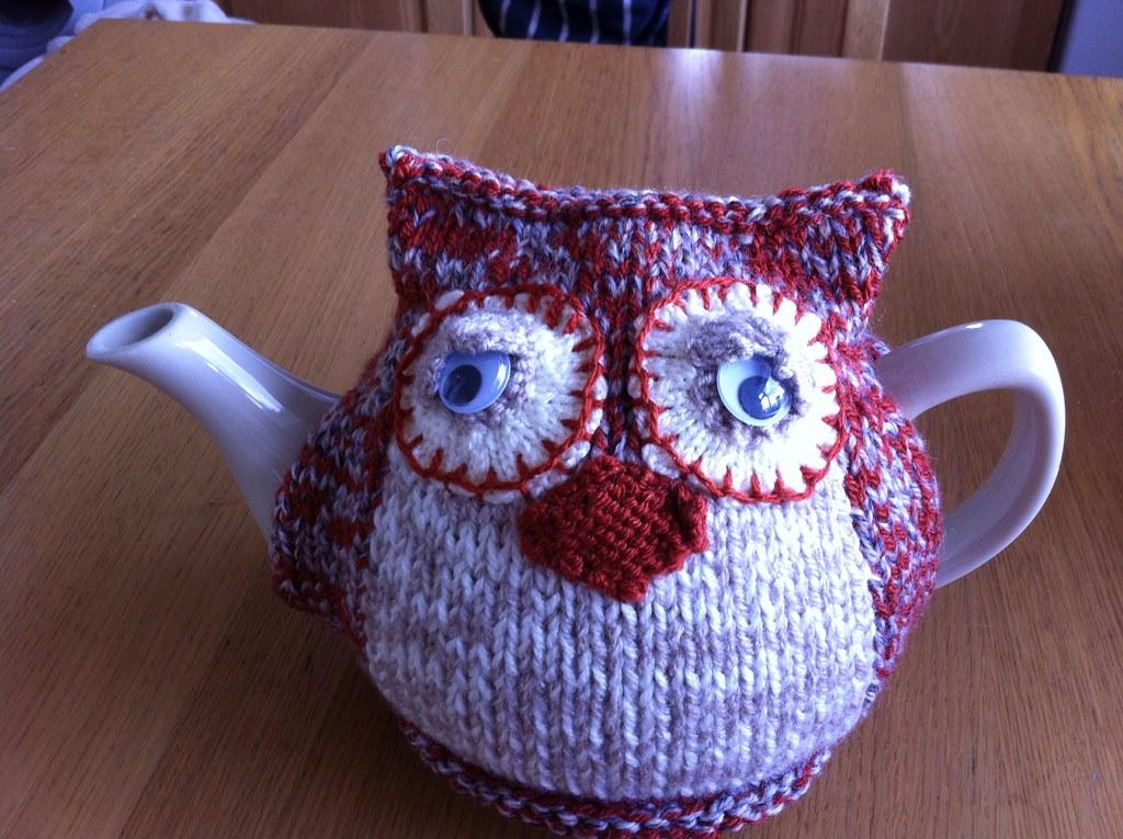 Morning Owl Tea Cosy A Housewarming Present Pattern By De