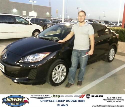 Plano Dodge: Thank You To Aaron Adams On Your New 2012 #Mazda #Mazda3 F