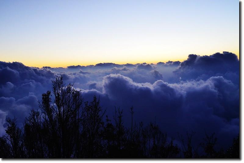北大武山登山步道3.8K光明頂的黃昏 7
