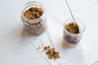 buckwheat granola | by harriet || harriet by hand