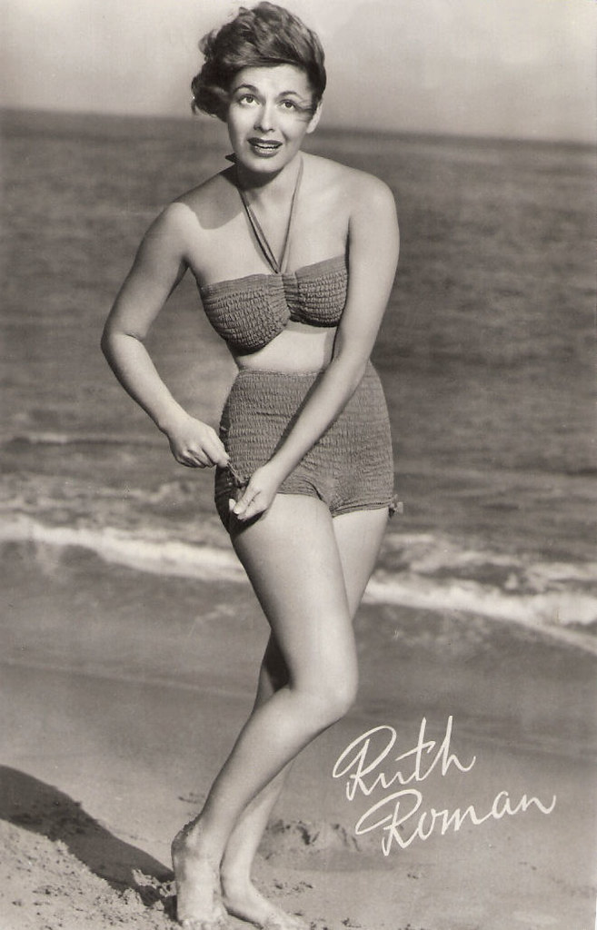 ruth roman measurements