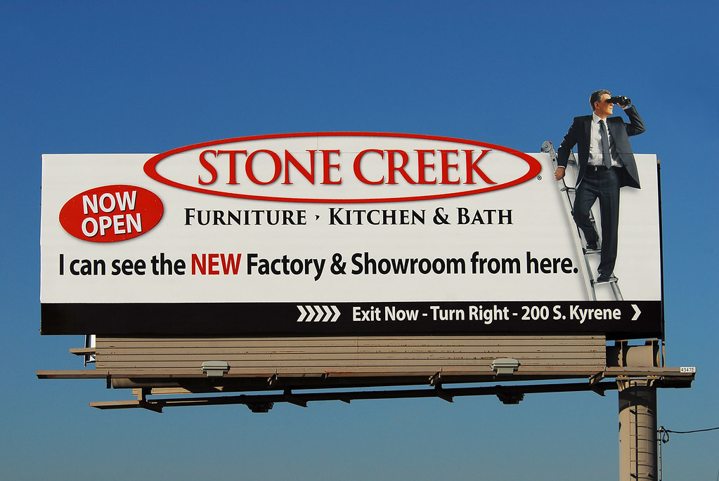 ... Stone Creek Furniture, Kitchen U0026 Bath Billboard   Santan Freeway Loop  202, Chandler,