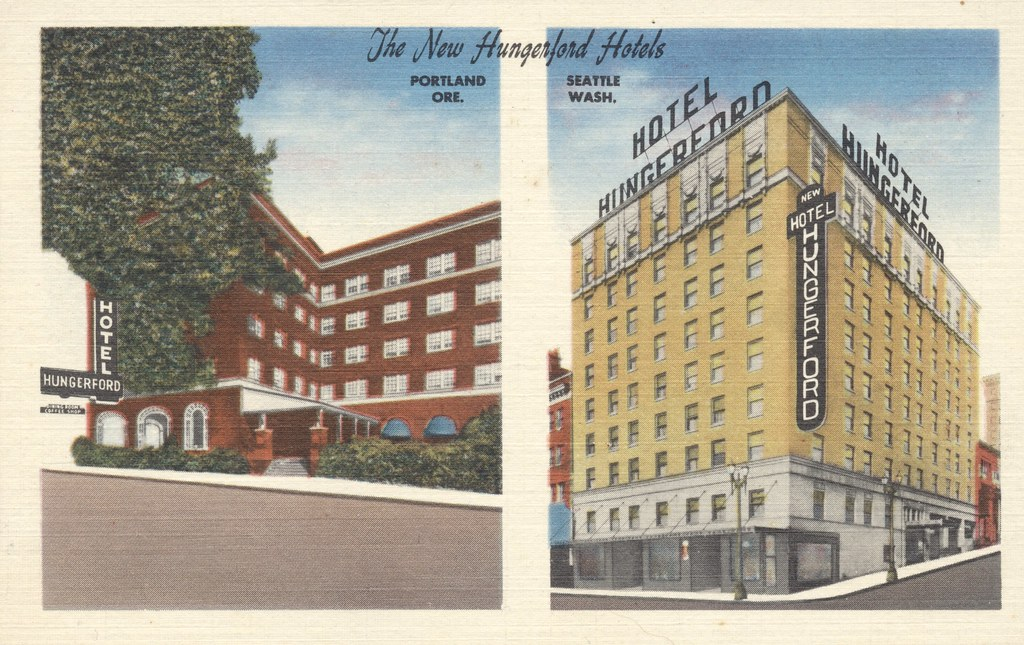New Hungerford Hotels - Portland, Oregon and Seattle, Washington
