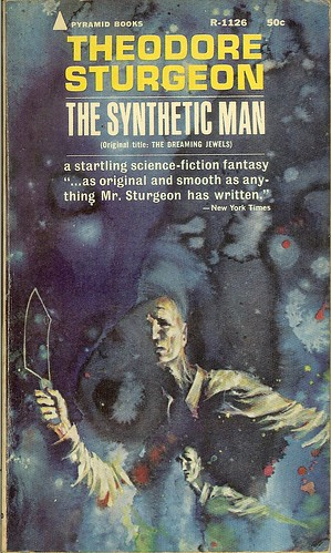 Synthetic Man - Theodore Sturgeon - cover artist John Schoenherr