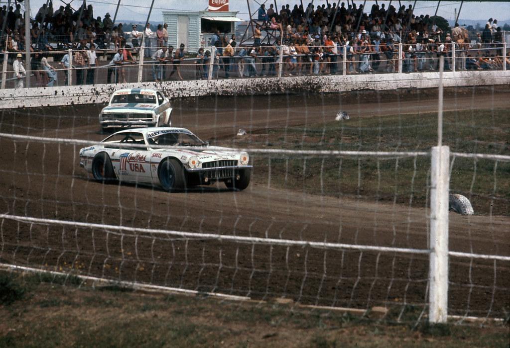 Old NZ Saloon Car Racing | American driver Gene Welch racing… | Flickr