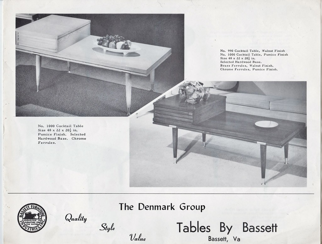 ... Bassett Furniture Denmark Occasional Tables Cover | By Mr. Beaverhousen