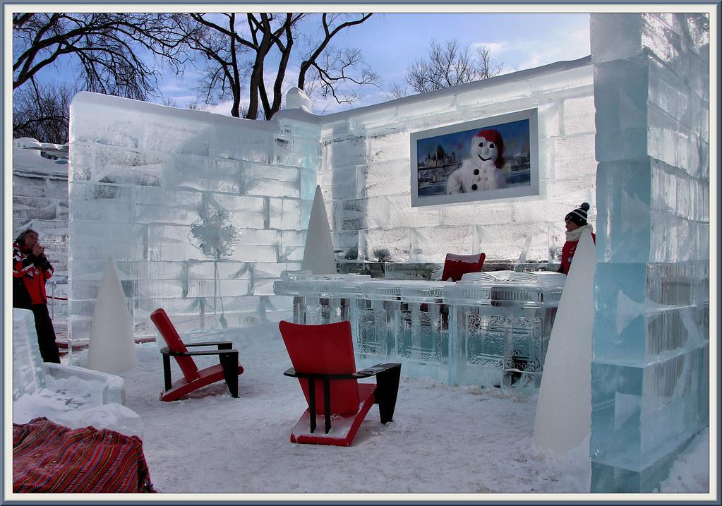 À l intérieur du palais de glace le bureau de bonhomme u flickr