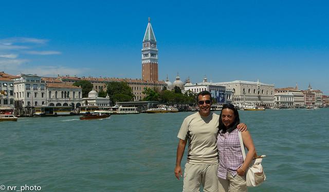 Plaza San Marcos al fondo, Venecia