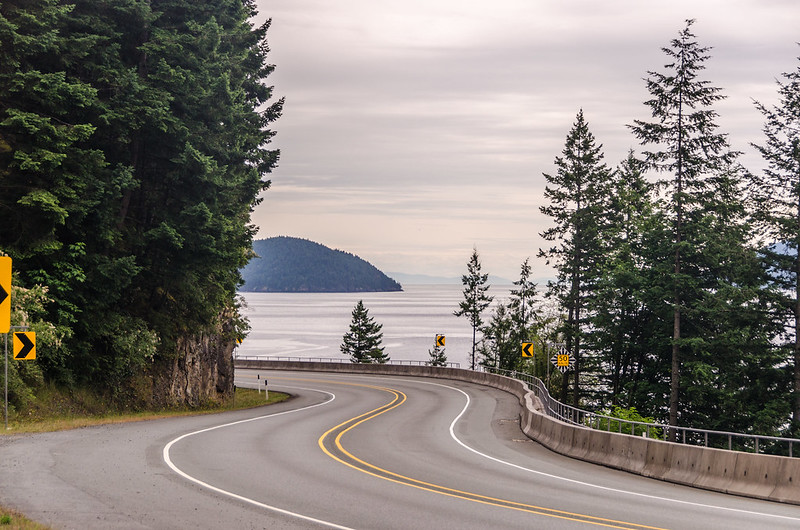 The sea to sky highway