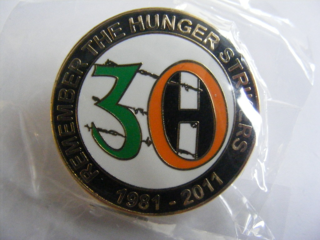 Irish Republican Sinn Fein Political Badge Commemorating T Flickr