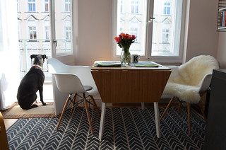 berlin apartment ikea ps 2012 table knockoff eames vitra c flickr. Black Bedroom Furniture Sets. Home Design Ideas
