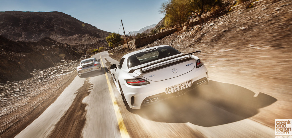 Sls Amg Black Series V S Porsche 911 GT3