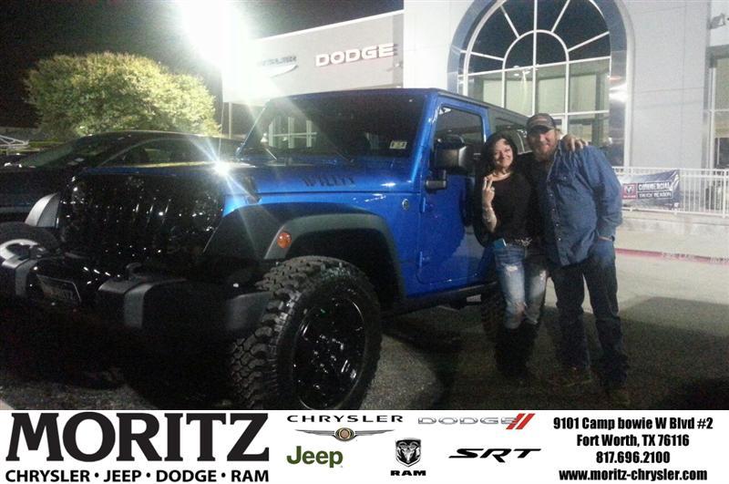 ... Moritz Fort Worth Texas Chrysler Jeep Dodge Ram SRT Customer Reviews  Dealer Testimonials Telisha U0026
