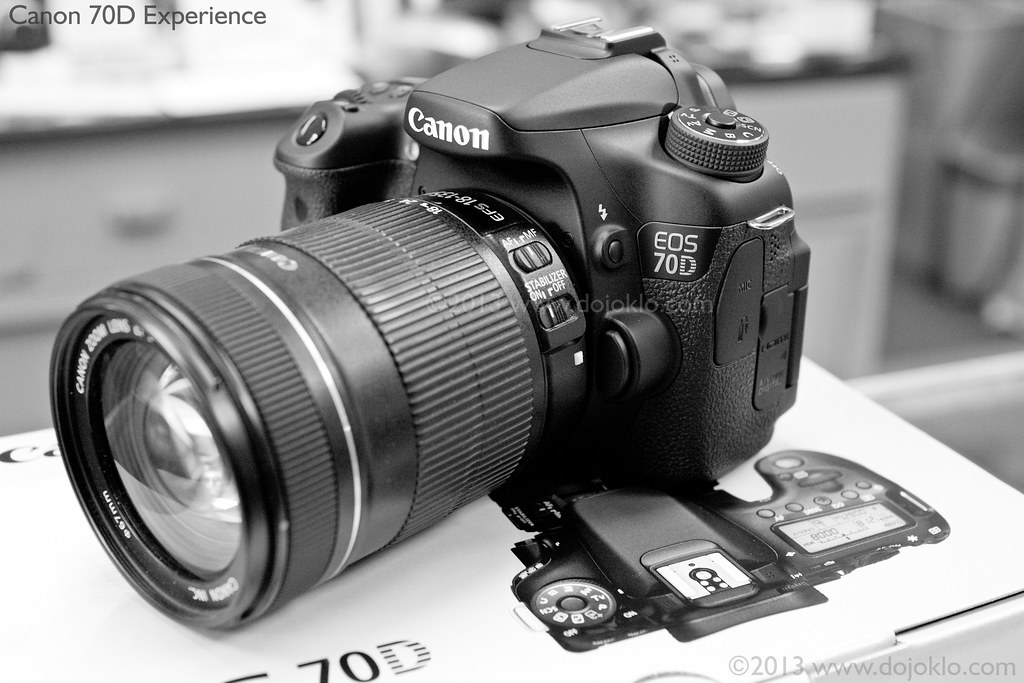 Canon 70d unboxing by dojoklo