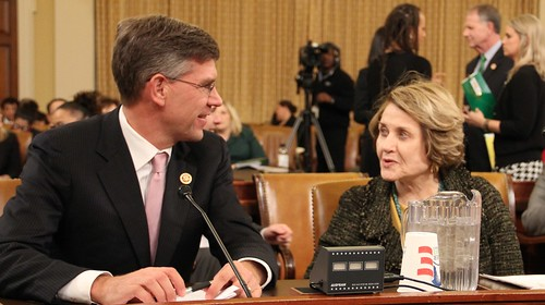 Louise and Rep. Paulsen (R-MN) | by rep.louiseslaughter