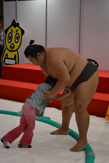 Still trying hard to push Sumo down... | by Jed Blues