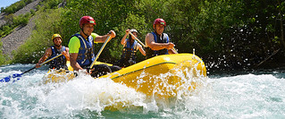 White-water rafting in Dalmatia-Raftrek-Adventure-Travel | by Raftrek Adventure Travel