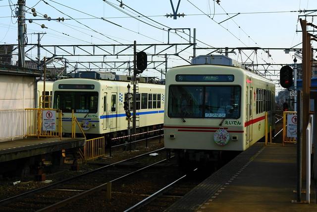 2016/06 叡山電車×三者三葉 ラッピング車両 #07