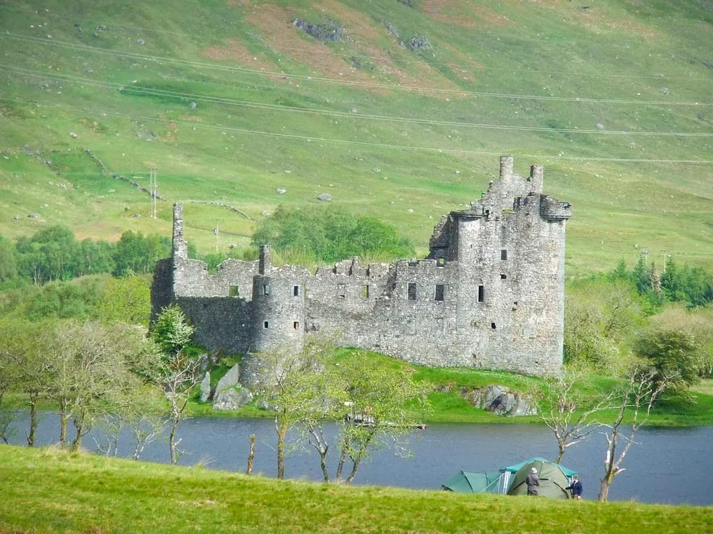 Kilchurn Castle Skotlanti